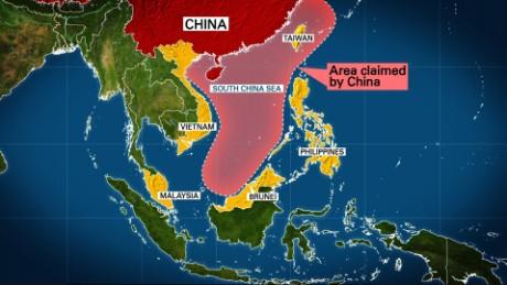 US destroyer sails near China-claimed island