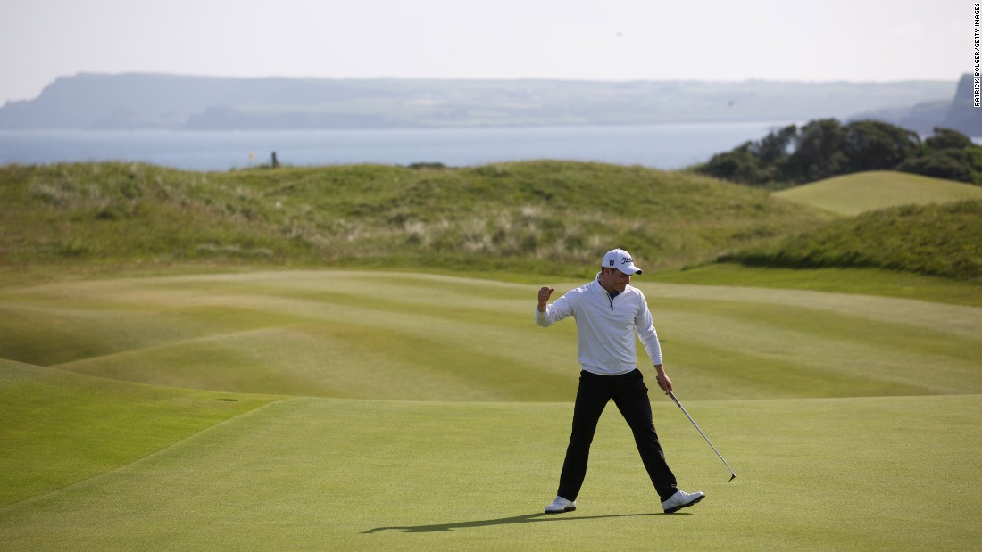 golf course rotation for the british open