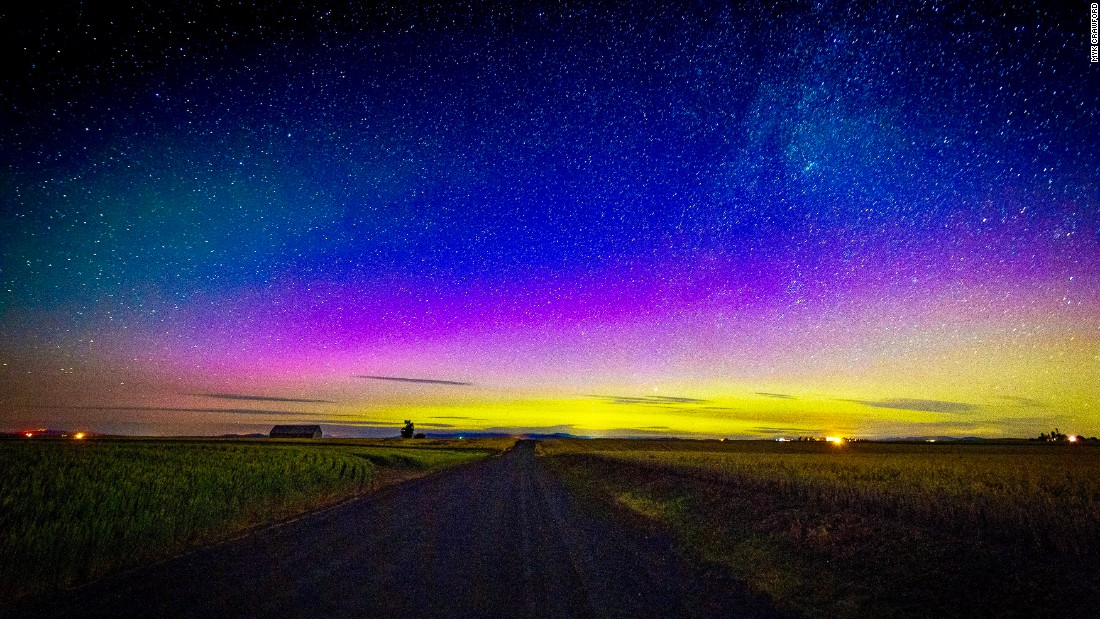 northern lights a geostorm