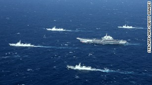 China's navy expands reach
