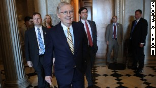 McConnell praises Trump in Kentucky, minutes after Trump criticized him