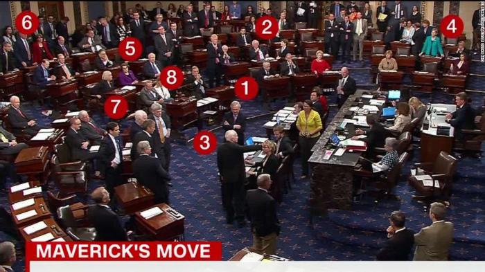 McCain's thumbs down caps contentious relationship with Trump - CNN Politics