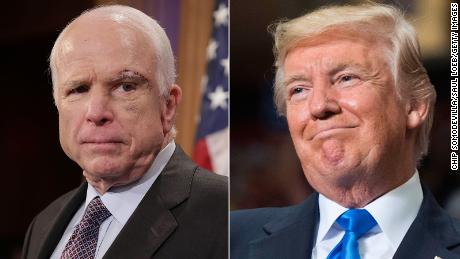 Trump warns McCain: 'Be careful because at some point I fight back'