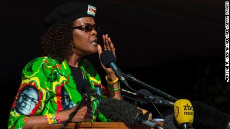 Grace under fire: A first lady's ambition cut short