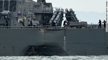 Plane crash latest in spate of US Navy accidents in Asia during 2017