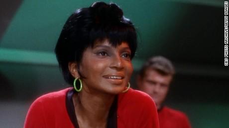"Nichelle Nichols had a groundbreaking role on ""Star Trek: The Original Series."""