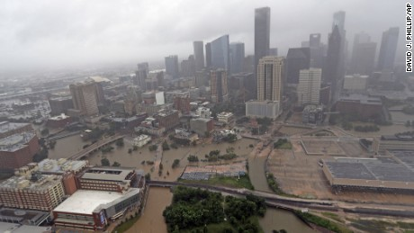How Houston's layout may have made its flooding worse