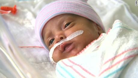 Evacuated babies go home after Hurricane Harvey