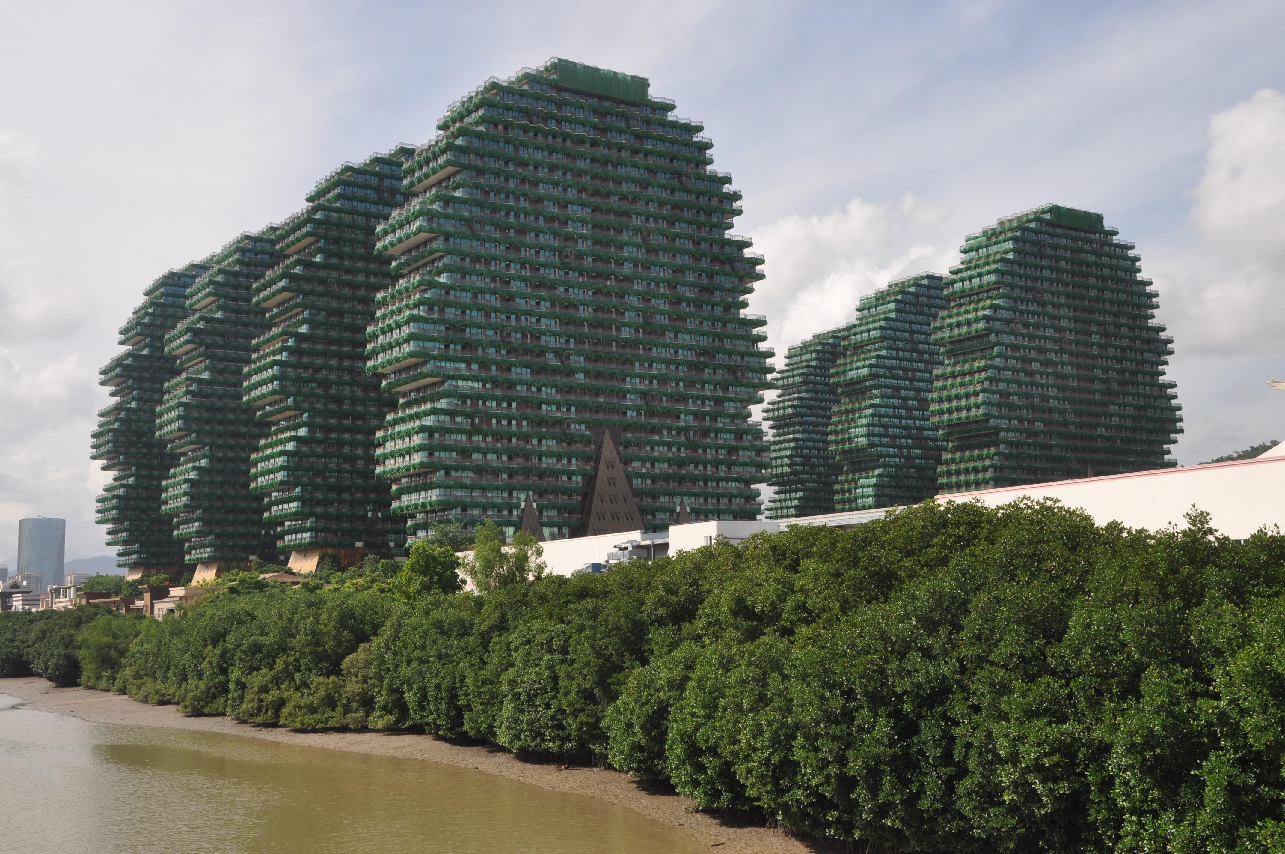 Hainan Hotels Arms Race Spawns Wild Designs Cnn Travel