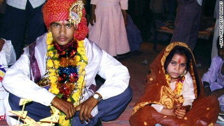 A girl gets married every 2 seconds somewhere in the world