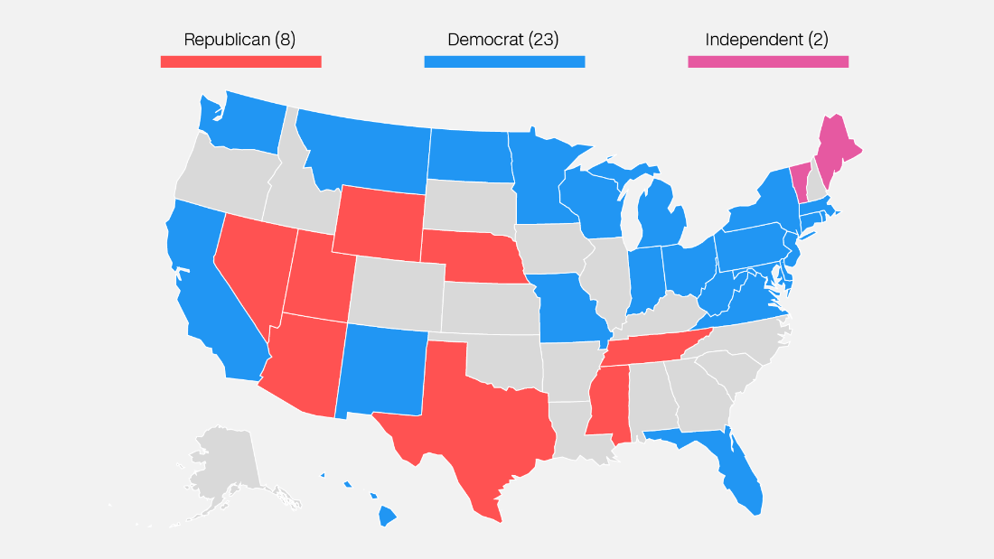 The 2018 Senate Map Is Starting To Look Less Awful For