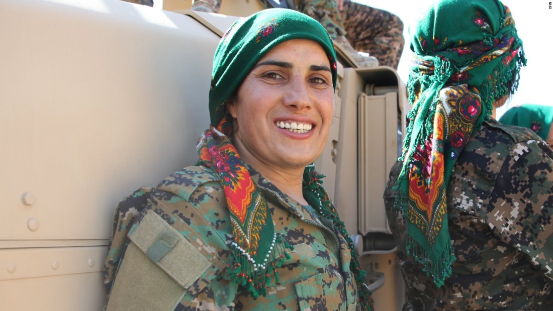 Shanda Afreen has been fighting ISIS for 4 years.