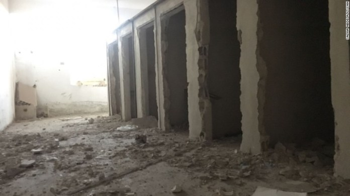 Inside the Raqqa jail where ISIS held their betrayers