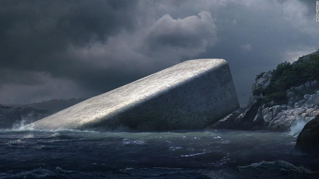 Snohetta designs Europes first underwater restaurant  CNN Style
