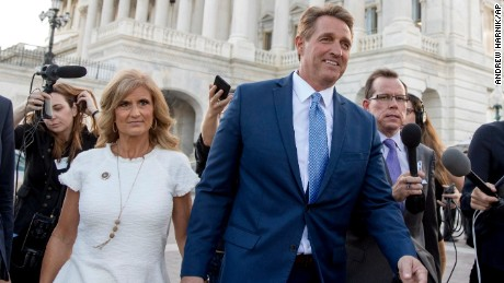 Fellow lawmakers surprised Flake won't run again