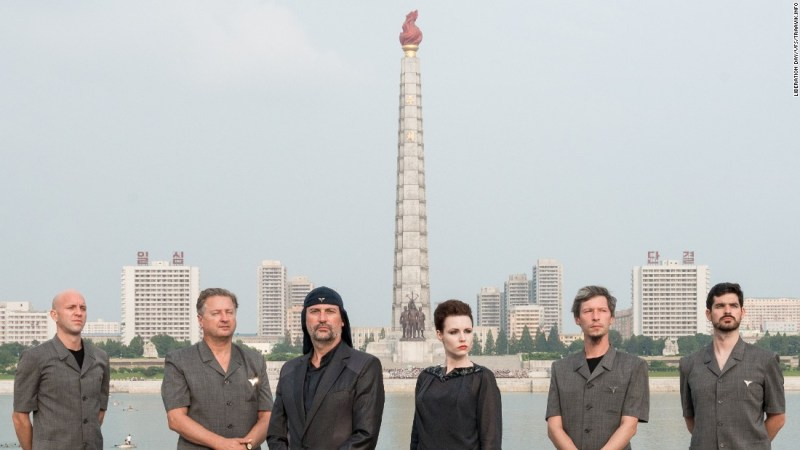 Slovenian rock band Laibach in North Korea