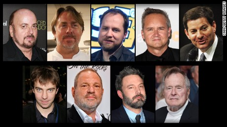 The (incomplete) list of powerful men accused of sexual harassment after Harvey Weinstein