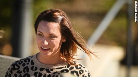 Shannon Allen says her husband cannot be left alone.