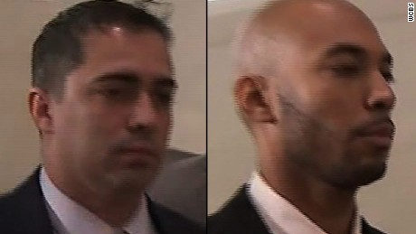 Detectives charged with raping woman in van