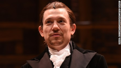 Epilepsy is personal for 'Hamilton' star