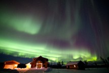 Igloos Aurora Borealis Iceland
