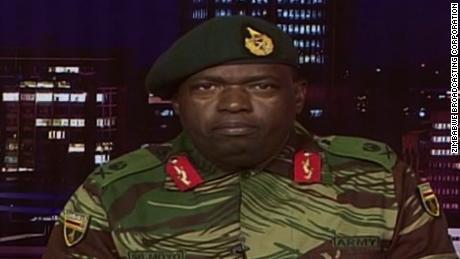 Zimbabwe military statement on ZBC