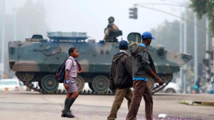Image result for military ruling zimbabwe