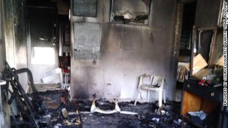 """A relative described the scene after a fatal fire Quintin Vidal's house as a """"hellscape."""""""