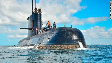Navy releases new timeline of hours before Argentine sub went missing