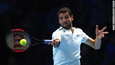 Dimitrov turned pro in 2008 and works with Andy Murray's former coach Daniel Vallverdu