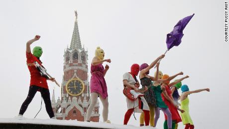 Pussy Riot's Nadya Tolokonnikova: American media give Putin too much credit