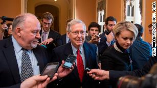 How all but one Republican senator found a way to pass tax reform