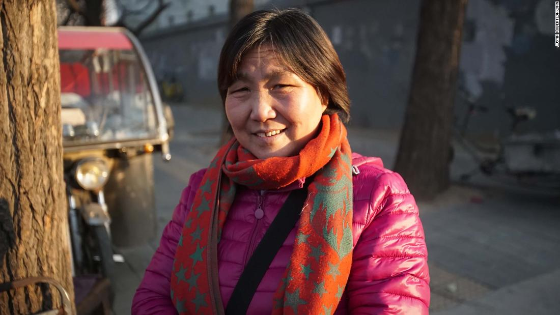 """Zhao Guihua is a migrant worker in Beijing who has been evicted from her home due to the city's ongoing crackdown on """"unsafe"""" buildings."""