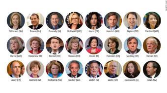 Democratic senators to Al Franken: Resign
