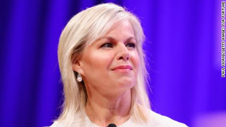 Gretchen Carlson speaks onstage at the Fortune Most Powerful Women Summit on October 11, 2017 in Washington, DC.