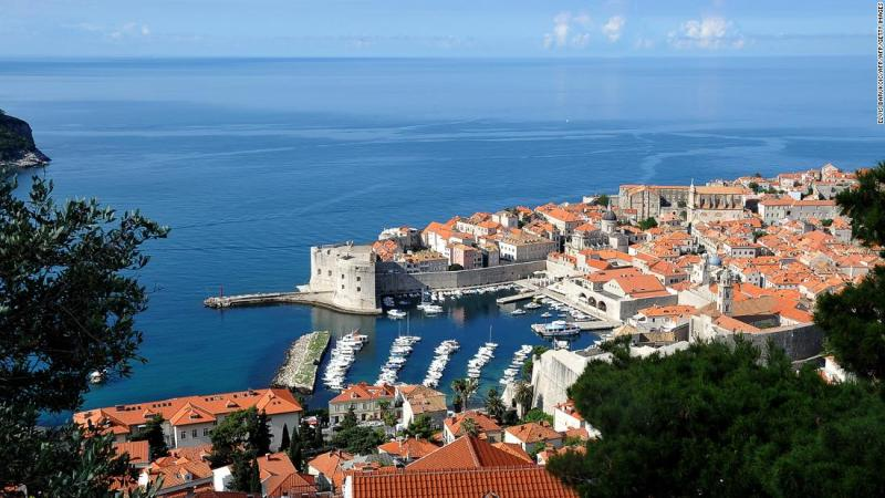 """<strong>Dubrovnik, Croatia: </strong>The beautiful medieval city of Dubrovnik makes an appearance in """"The Last Jedi"""" as Canto Bight, a """"Star Wars"""" version of Las Vegas."""