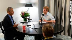 Prince Harry interviews Barack Obama for radio show