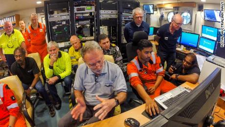 The search team included maritime surveyors, marine archaeologists and naval historians who used an echo sounder and underwater drone to scour the area.