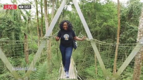 Inside Africa inspiring others through social media B_00051023