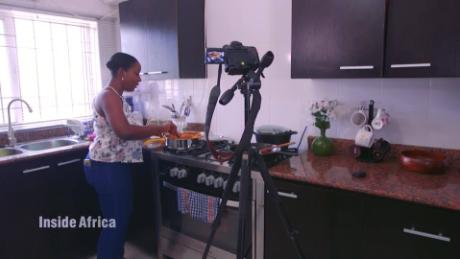 Inside Africa this chef's recipe for success online C_00034030