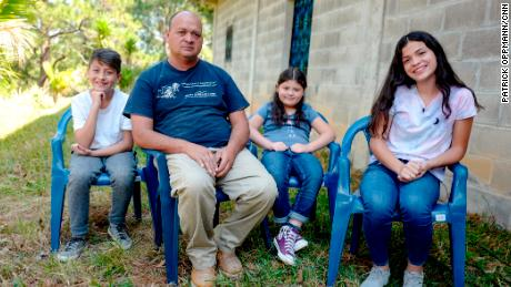 He's from El Salvador. They're American. Trump could separate them.