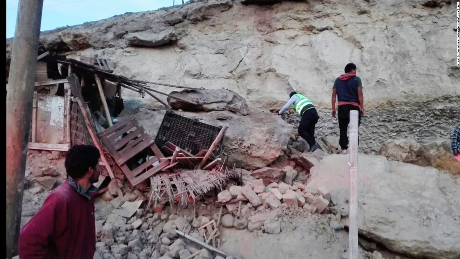 Deadly Earthquake Shakes Southern Peru