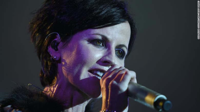 The Cranberries' lead vocalist Dolores O'Riordan performs in 2016.