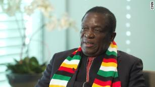 Who is Emmerson Mnangagwa?