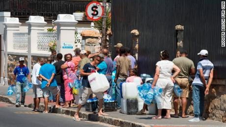 In my city of Cape Town, there is only one topic of conversation: water