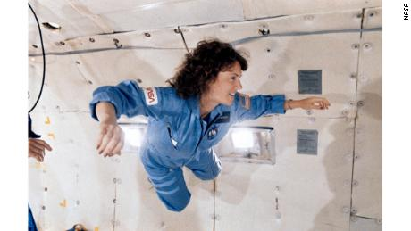 A New Hampshire high school instructor, Christa McAuliffe was selected for the NASA Teacher in Space Project