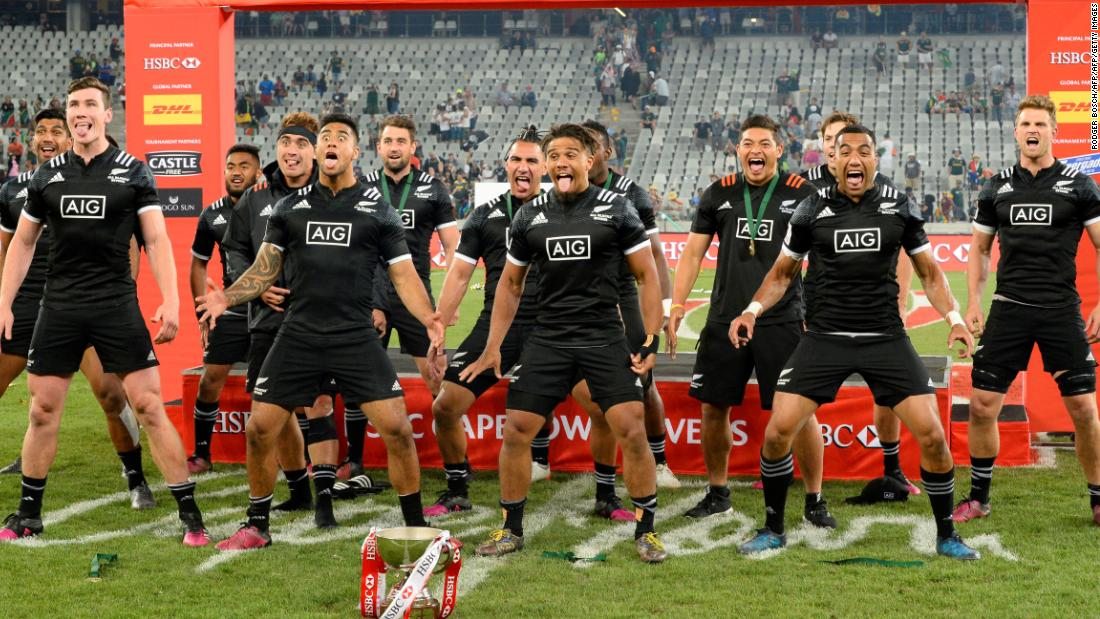 """The All Blacks claimed a first tournament victory since March 2016 in South Africa, <a href=""""https://edition.cnn.com/2017/12/11/sport/rugby-sevens-world-series-round-two-cape-town-new-zealand-haka/index.html"""">toppling Argentina </a>in the final."""