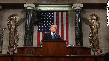 Trump's State of the Union was about 9 minutes shy of setting a record for length