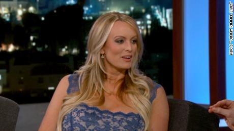 Stormy Daniels appears on Jimmy Kimmel