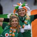 Irish fans six nations
